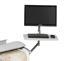Floor Stand PC Mounting Option for 02S076 (SC25, SC36, SC42 & SG Series Scanners)